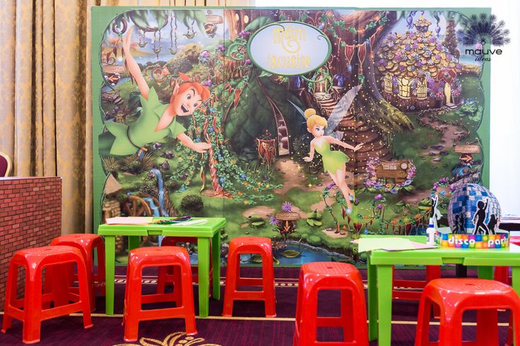#disney #town #tinkerbell #decorations