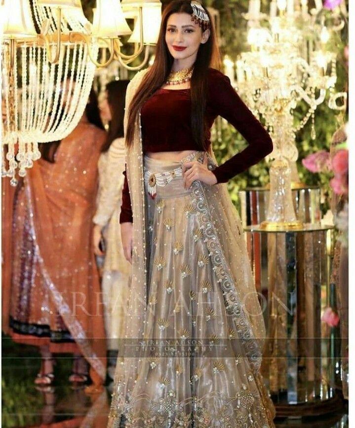 Mehndi dress//lehnga Pakistani//bollywood
