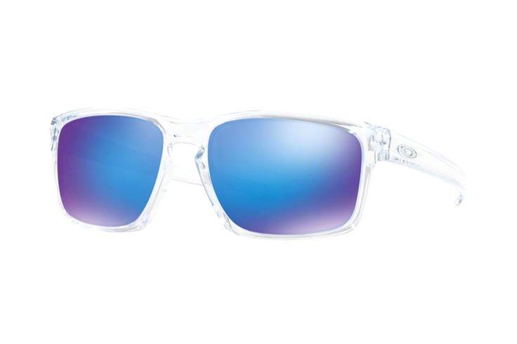 Oakley Silver OO9262 06 Sonnenbrille in polished clear | Manche Sonnenbrillen schützen Ihre Augen, andere schützen Ihr Image. Oakley-Sonnenbrillen schützen Beides. Ein Stil für jeden Geschmack, mit der Technologie für jeden Bedarf. Sonnenbrillen für jede Situation.Gönnen Sie sich eine...