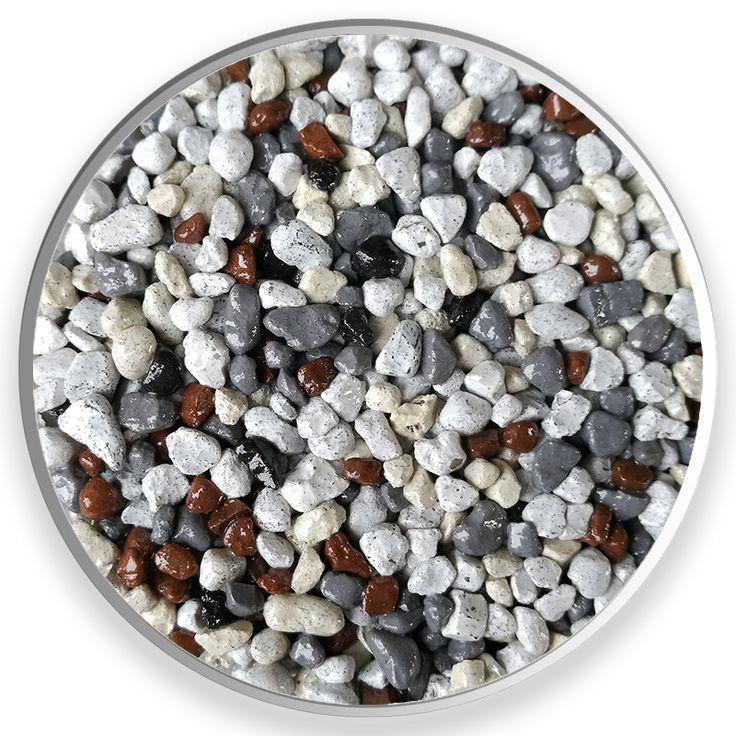 Farebný mix 1532 II. Farebné kamenivo dostupné v rôznych frakciách.  Vhodné pre kamenné koberce, mozaikové omietky, dekoračné účely, zoológiu. #art4you #art4youpodlahy #podlaha #podlahy #epoxid #polyuretanovépodlahy #polyuretan #epoxidovépodlahy #farebnékamenivo #farebnýpiesok