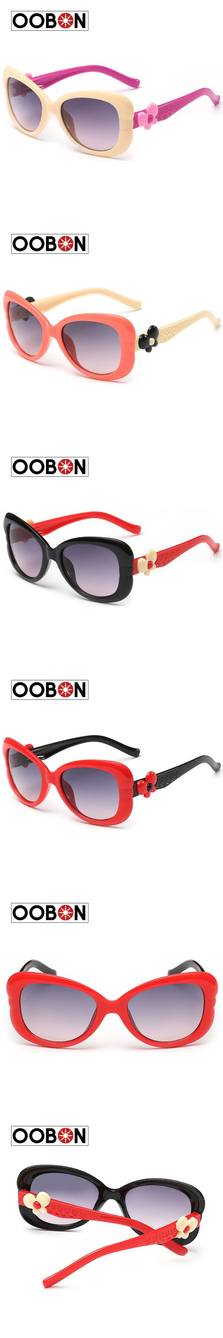 Oobon Rushed Adult 2016 Multicolor Frame Cute Cool Kids Sunglasses Uv400 Original Oculos Infantil New Sun Glasses Eyewear Boy