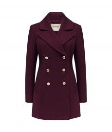 Elody peacoat from @forevernew.  #forevernew #peaoat #marsala
