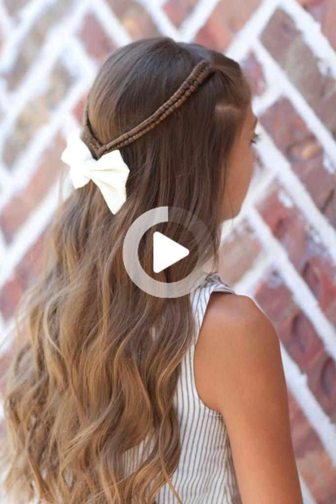 16 Cute And Easy Hairstyle For School Girls In 2020 Easy Hairstyles For School Hairstyles For School Easy Hairstyles