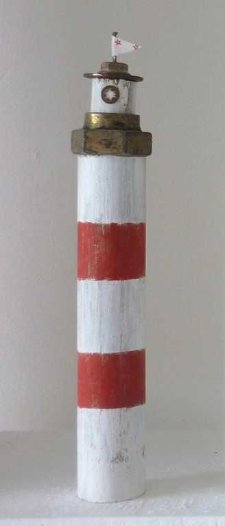 Driftwood lighthouse - Kirsty Elson Designs