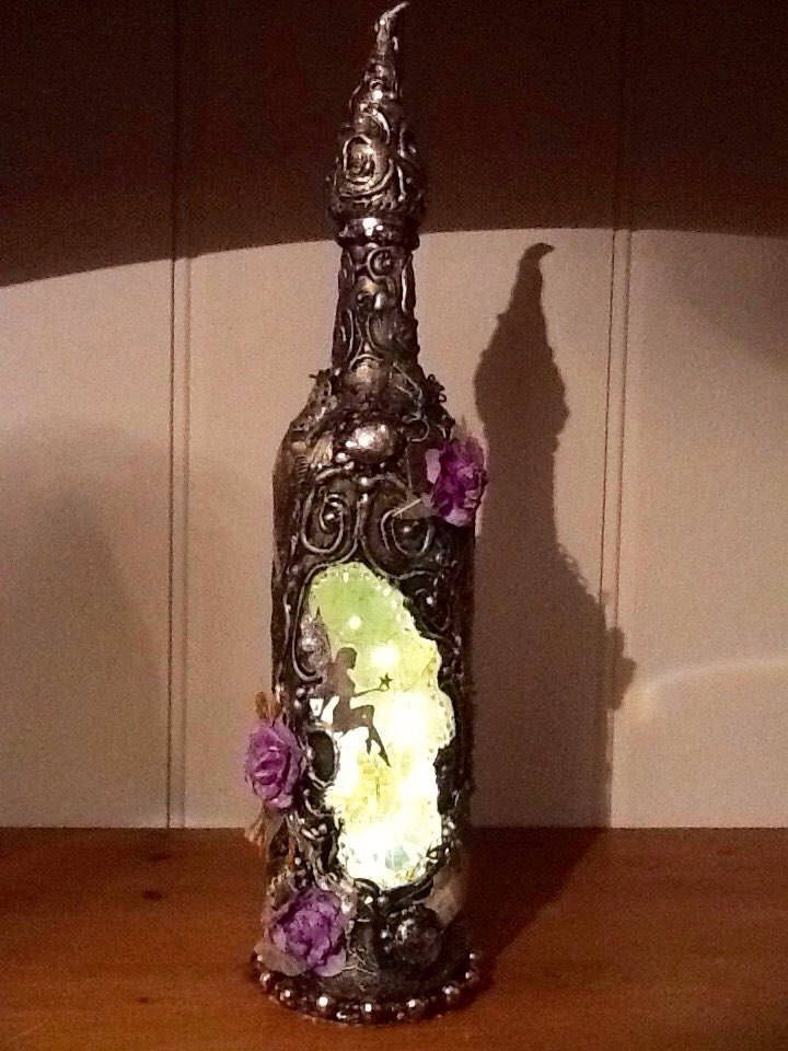 A personal favourite from my Etsy shop https://www.etsy.com/uk/listing/550254568/glass-fairy-bottle-light