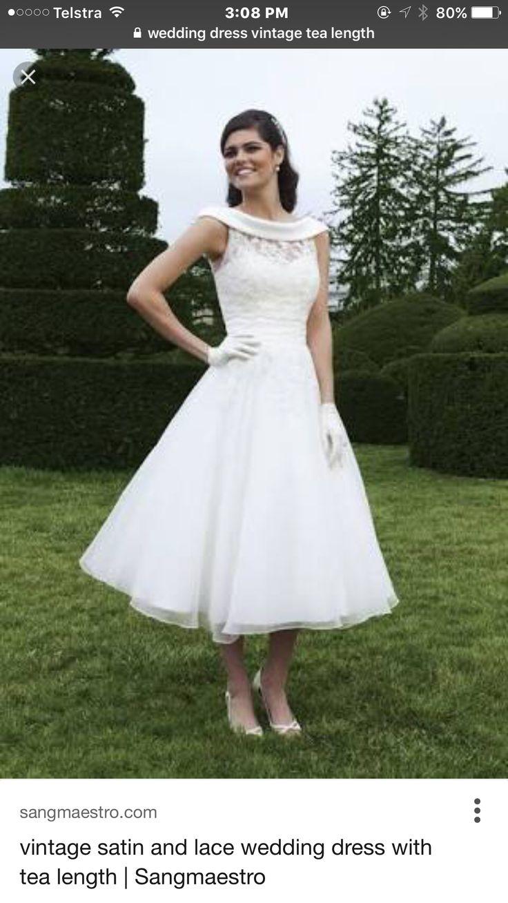 Preloved pronovias wedding dresses   best Vintage Wedding Dresses images on Pinterest  Short wedding