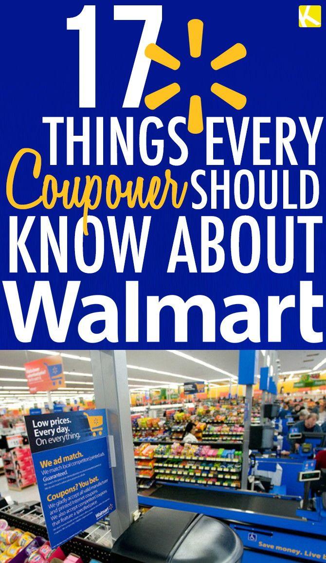 Walmart in store coupons