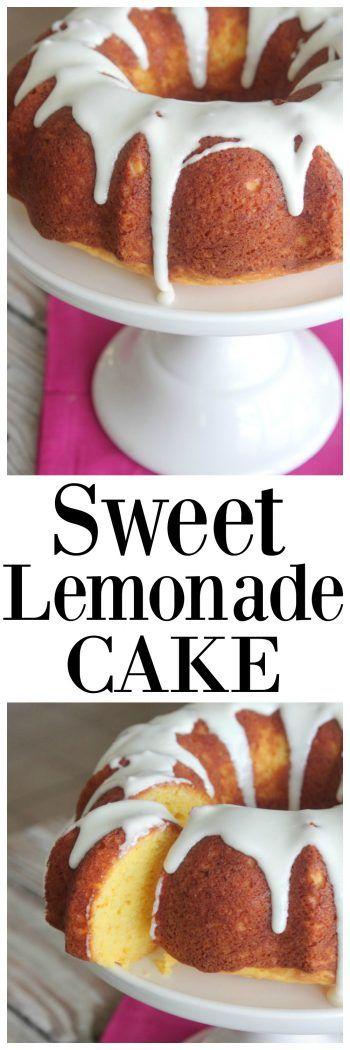 Sweet Lemonade Cake | DIY recipes | Pinterest | Cake, Recipes and Food