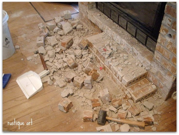 Fireplace redo fireplace remodel fireplace ideas fireplaces remove