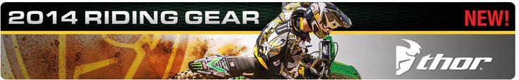 2014 Thor Gear | Rocky Mountain ATV/MC #thor #thormx #motocrossgear #motocross #mx #dirtbikes #atvs #utvs #trackfashion #2014