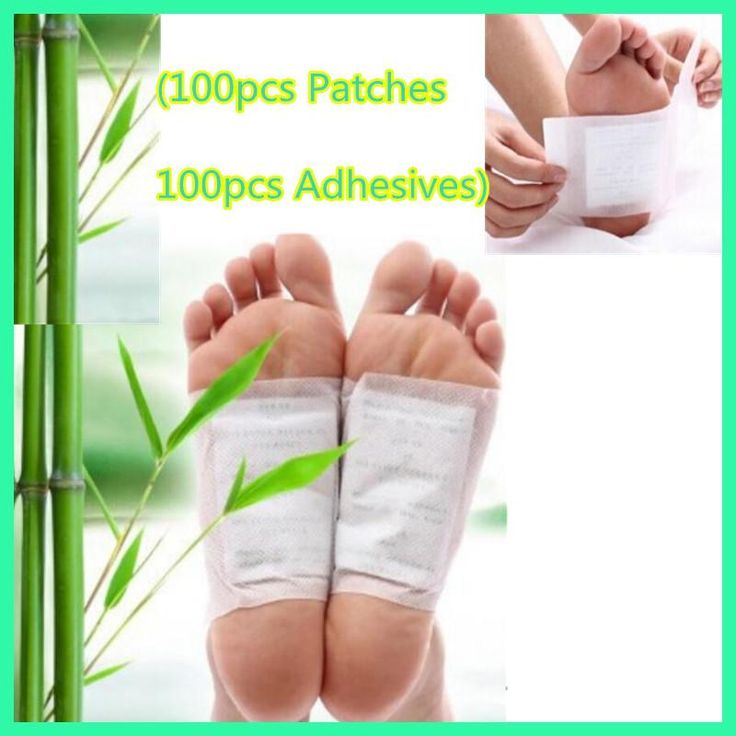 200pcs=(100pcs Patches+100pcs Adhesives) Kinoki Detox Foot Patches Pads Body Toxins Feet Slimming Cleansing HerbalAdhesive smrp