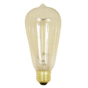 Feit Electric, Original Vintage Style 60-Watt Incandescent ST19 Light Bulb, BP60ST19/RP at The Home Depot - Mobile