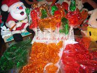 Recette Bonbons et Suçons au sucre d'Orge pour Noël !! par La cuisine en fête de Sakya