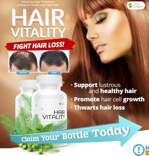 Hair Vitality Review - Hair Loss