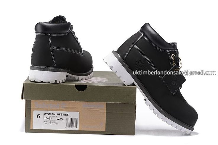 Timberland Chukka Boots For Men Waterproof Oxford Black White $85.00