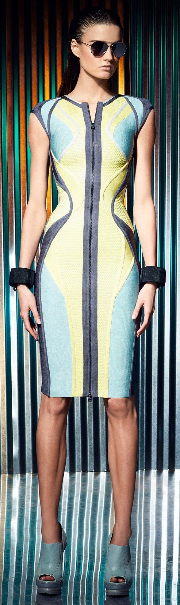 Herve Leger Resort 2014 ♥✤ | Keep the Smiling | BeStayBeautiful✿♥️PM