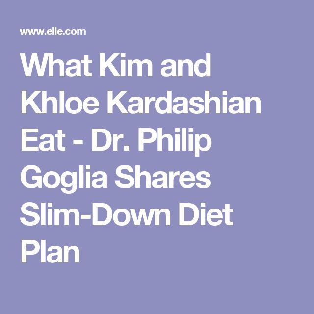 What Kim and Khloe Kardashian Eat - Dr. Philip Goglia Shares Slim-Down Diet Plan