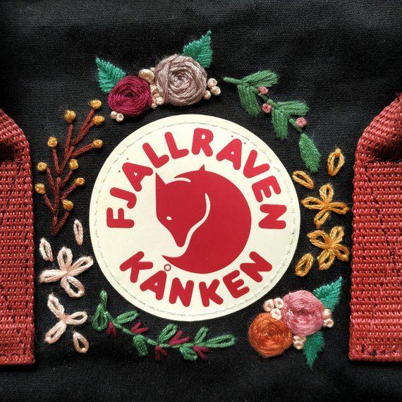 Kanken Backpack Fjallraven Kanken Custom embroidery Kanken