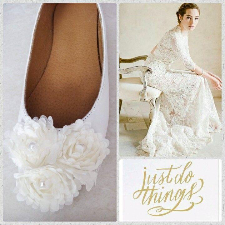 Handmade bridal ballerina by elli lyraraki