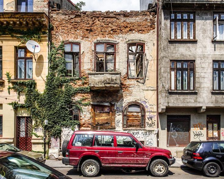 Casă abandonată - Strada Gutenberg © Mihai Petre