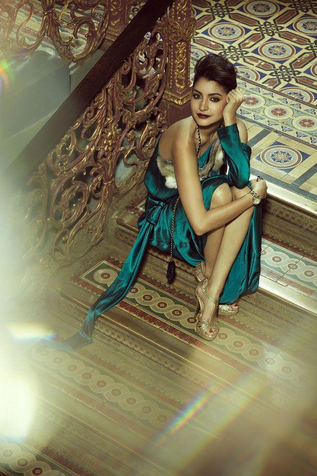 Anushka Sharma in a #photoshoot. #Bollywood #Fashion #Style #Beauty