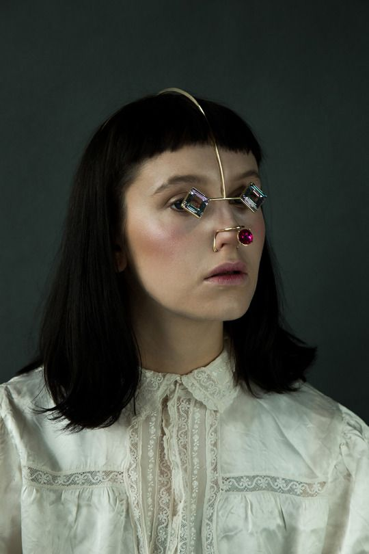 Another Skin–Putting on Someone's Identity (2015) Photo: Runa Anzai Model: Kitty Garrett Hair & makeup: Yoko Minami Stylist: Kei Terayama