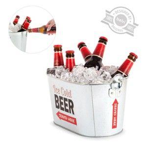 """Es verano, llega el calor, es sin duda """"Party Time"""". ¿Te imaginas lo guay que va a ser presentarte en la próxima barbacoa, fiesta o tarde en la piscina o la playa con este enfriador de cerveza? Es muy fácil comprobarlo, ¡cómpralo ahora y sorprende a todos!"""