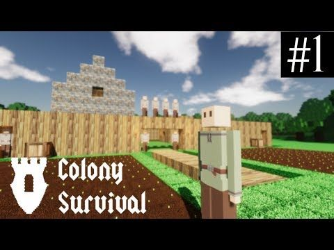 Cory and Ryan start on a new adventure in this recent release! The game is only in alpha but it is so much fun. Cory spends the first episode teaching Ryan how to play Colony Survival. He goes over the basics like: how to build an archer, a farm, and house. Ryan struggles at first but he quickly picks up the game. The Gamingtators plan to grow with this game so expect many more videos highlighting how to play this game and all the awesome updates to come!