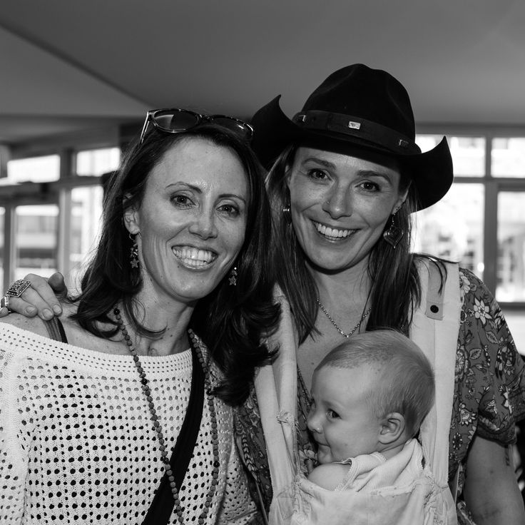@buchan6169, Zoe Naylor and Beau at the launch of Linda's book, Step by Step - Photo Douglas Frost