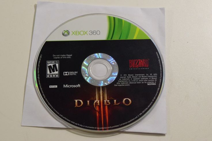 Diablo III - Xbox 360 - Video Game