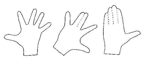 Designing Fingers Using a Foolproof Method! © 1995, Updates and revisions 1996 and 1997 By Judi Ward