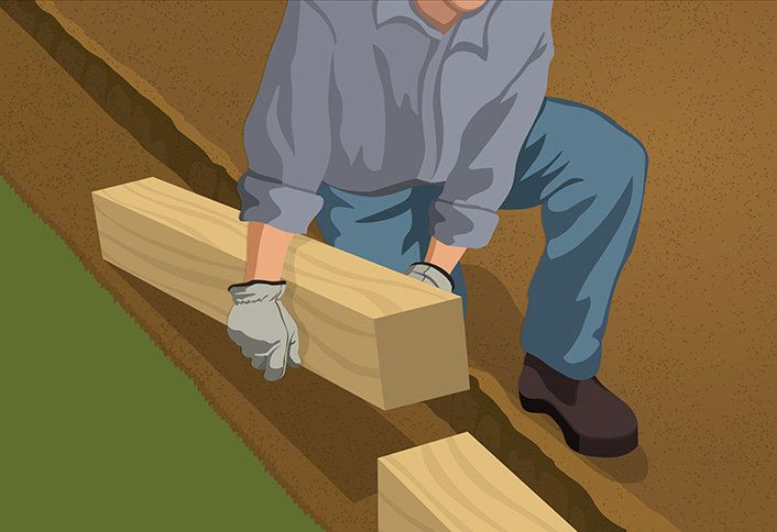 Landscape Timbers Driveway Edging : Best landscape timber edging ideas on