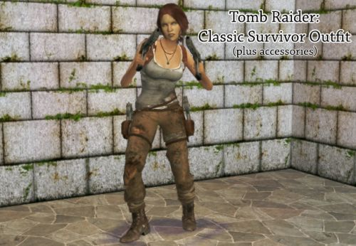 Grunge Finds | Tomb Raider outfit