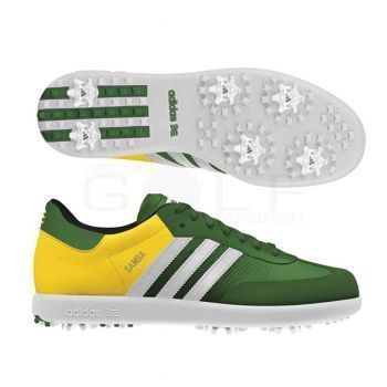 Adidas Samba Masters Golf Spikes. If your husband played soccer as a lad and likes golf now - get these.