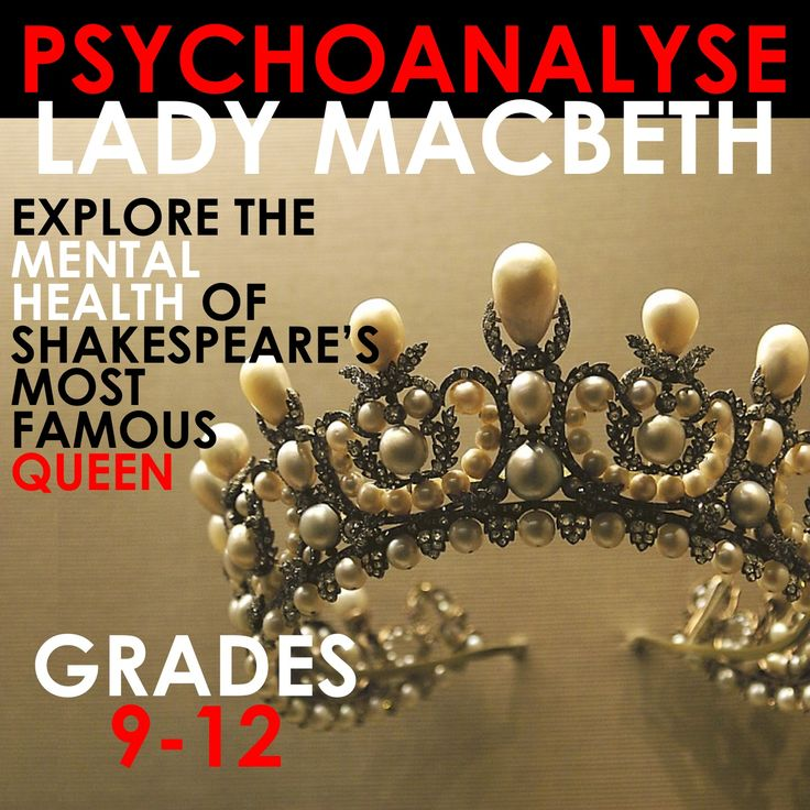 Lady Macbeth is a fascinating character - have your students analyse her mental health and collect key quotes along the way. A perfect way to inspire forensic reading and encourage them to LOVE Shakespeare!
