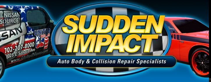 Car wrecked?  For the best work in auto body in Henderson Sudden Impact Auto Body & Repair is the place to call. Southern Nevada's finest.