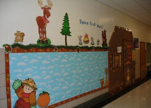 Camping Bulletin Boards on A Blog Dedicated To Bulletin Boards Categorized By Months