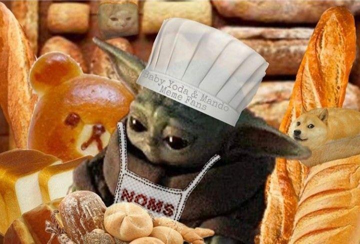 Pin By Katfmb On Baby Yoda Grogu Funny School Memes Funny Babies Animals Amazing