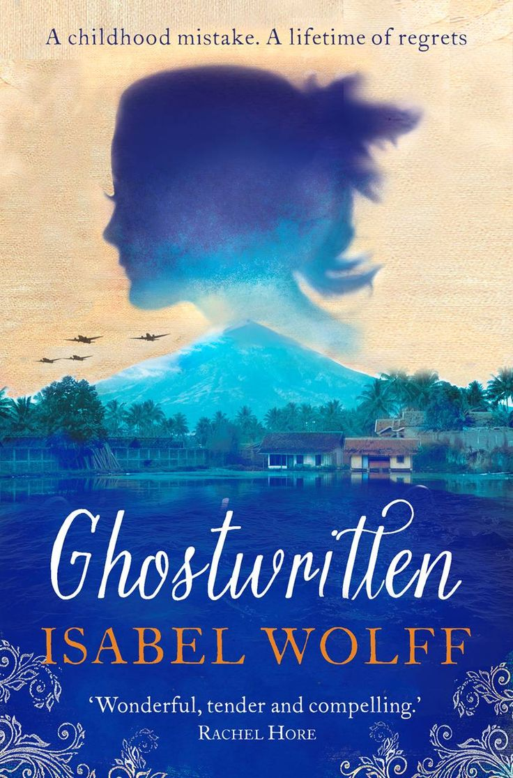 The cover of 'Ghostwritten'