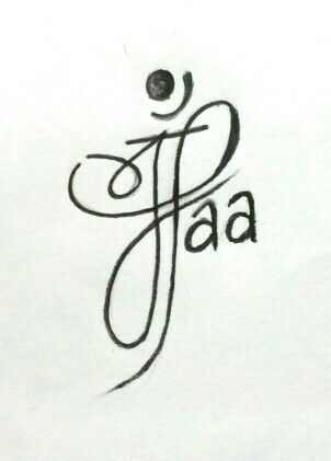 maa tattoo design