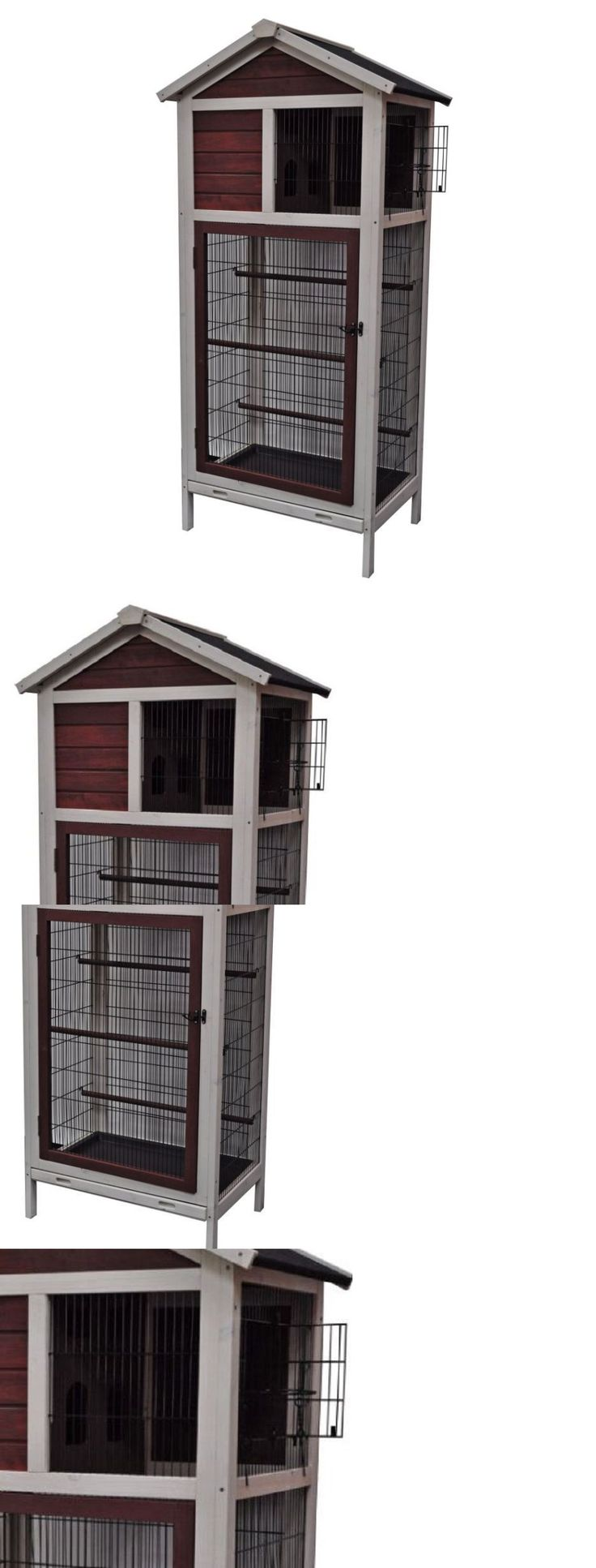 Cages 46289: Flight Cage For Birds Aviary Outdoor Large Parakeet Finch Big Bird House Hutch -> BUY IT NOW ONLY: $269.95 on eBay!