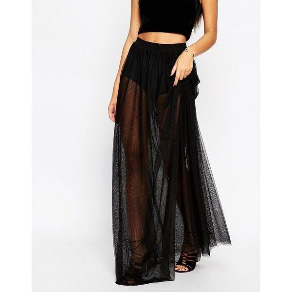 17 Best ideas about Sheer Maxi Skirt on Pinterest | Elegant ...