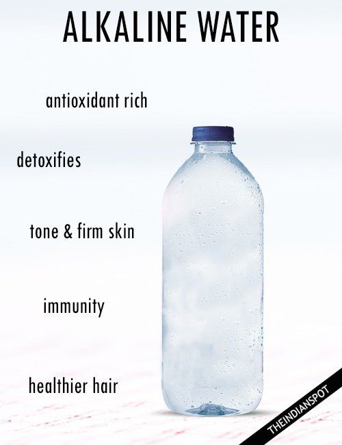 How To Make Alkaline Water And Benefits Health How To