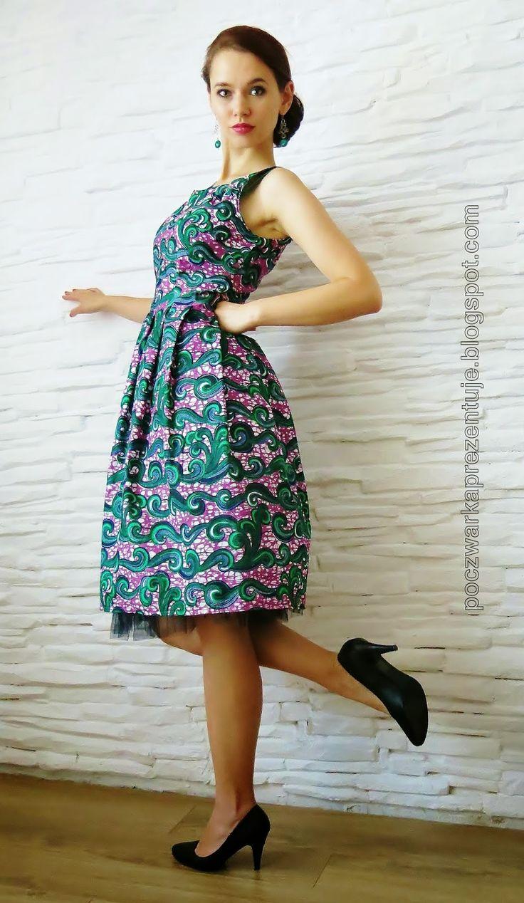Poczwarka Prezentuje... Colorful Retro Dress