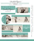 Photography Template - Boudoir Elegance Photography Marketing Set - soft and  pretty, show off your style with this marketing set