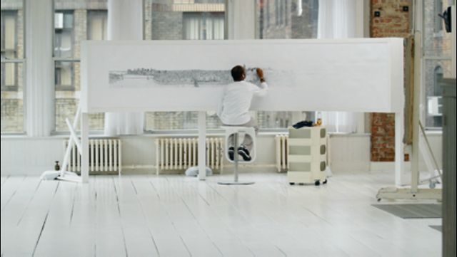 """http://www.feeldesain.com/stephen-wiltshire-draws-manhattan-skyline-from-memory.html  UBS """"Stephen Wiltshire"""" by HUMBLE TV. Director/DP Noah David Smith recently teamed up with humble and Publicis to shoot a touching film for UBS featuring artist, Stephen Wiltshire.  After spending the early years of his life as a mute Stephen found his voice through drawing.  Later diagnosed with autism, drawing began to be the way he communicated with the world..."""
