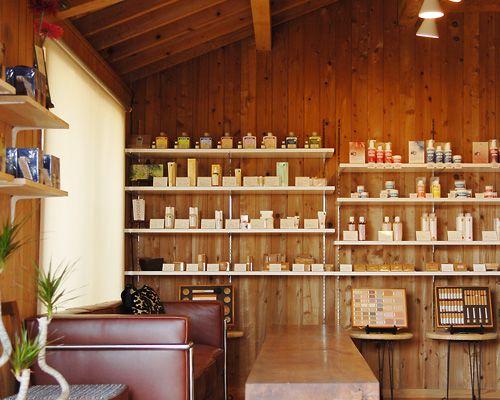 Organic cosmetics shop 'GREEN'