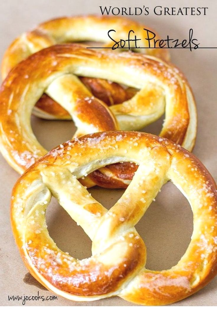World's Greatest Soft Pretzels | Bread Recipes – Fingerfood