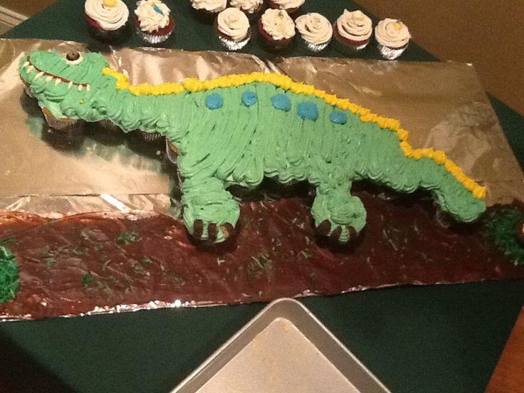 T Rex Cake Pattern