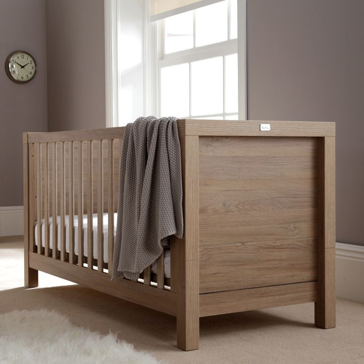 The statement Portobello cot bed from Silver Cross. This stylish cot bed has 3 bed base positions and then transforms into a lovely toddler bed, so it grows with your child from birth to toddler.